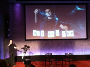 Marco Tempst, the @VirtualMagician at Guardian Activate Summit in New York