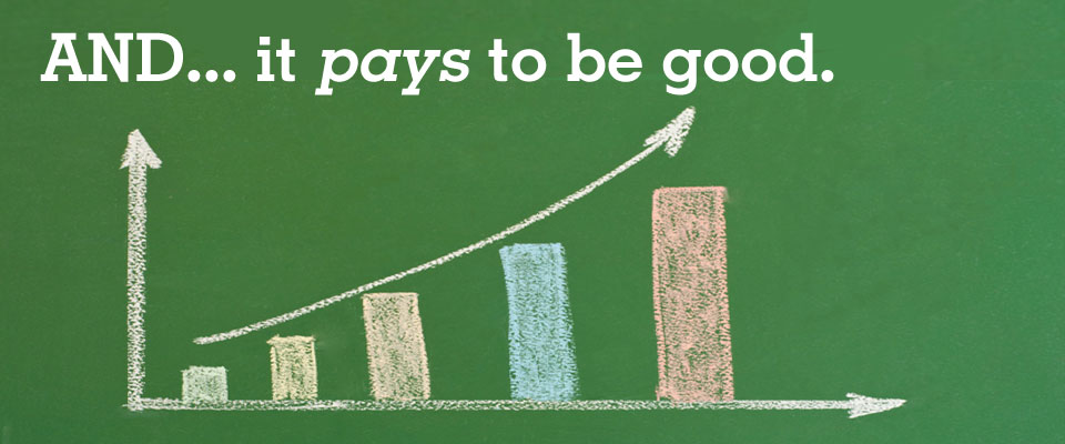 Two Lessons in Order to Do Well by Doing Good