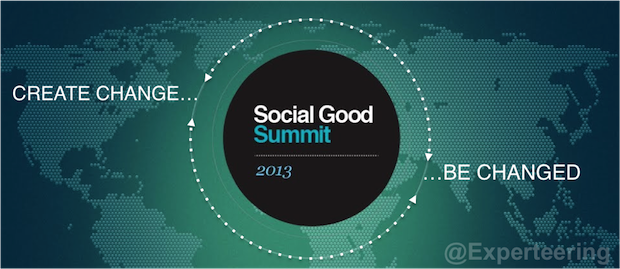 The Mashable Social Good Summit Recapped in 4 Words: Create Change, Be Changed