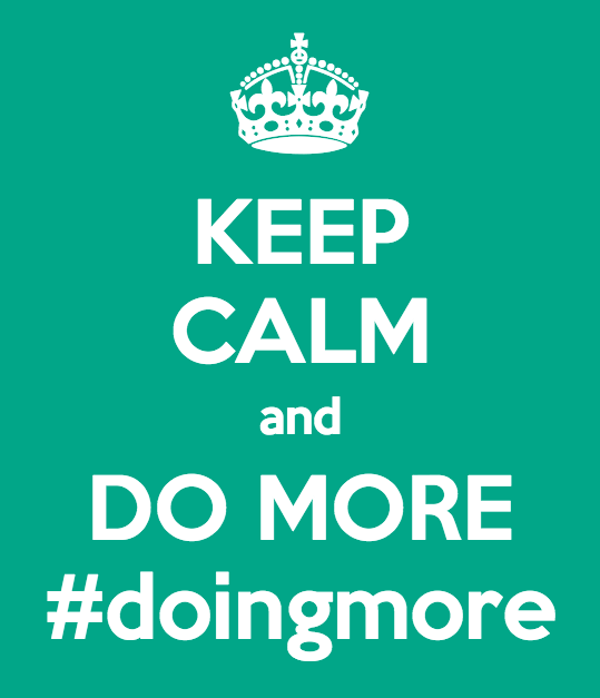 #DoingMore – A Hashtag Creating Real Change