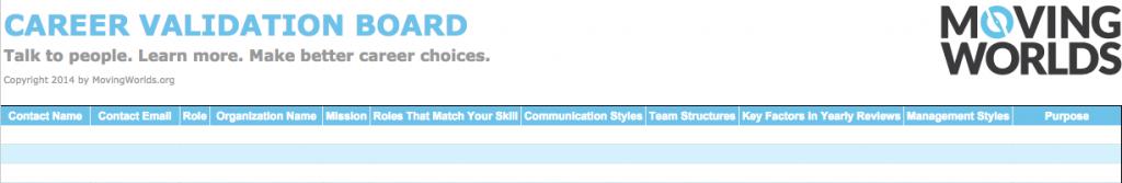 Career Validation