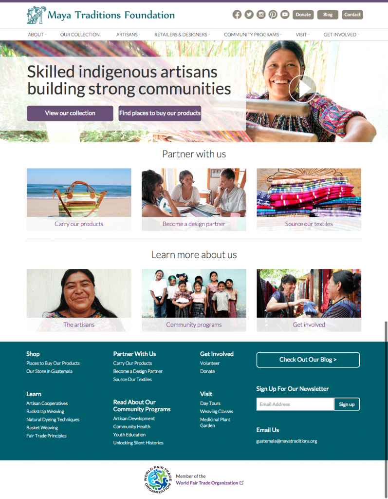 Partner Spotlight with Maya Traditions: Using the Web to Empower Women in Guatemala