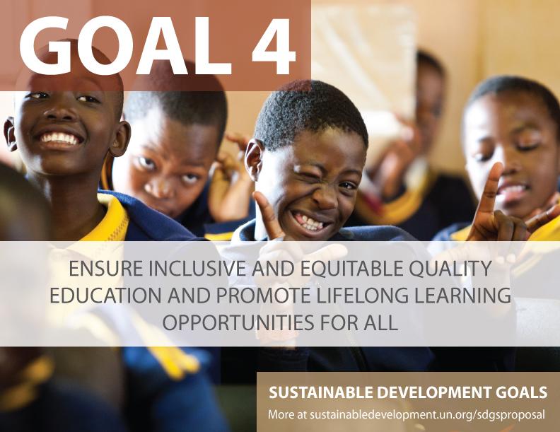 SDG Goal 4 - Education