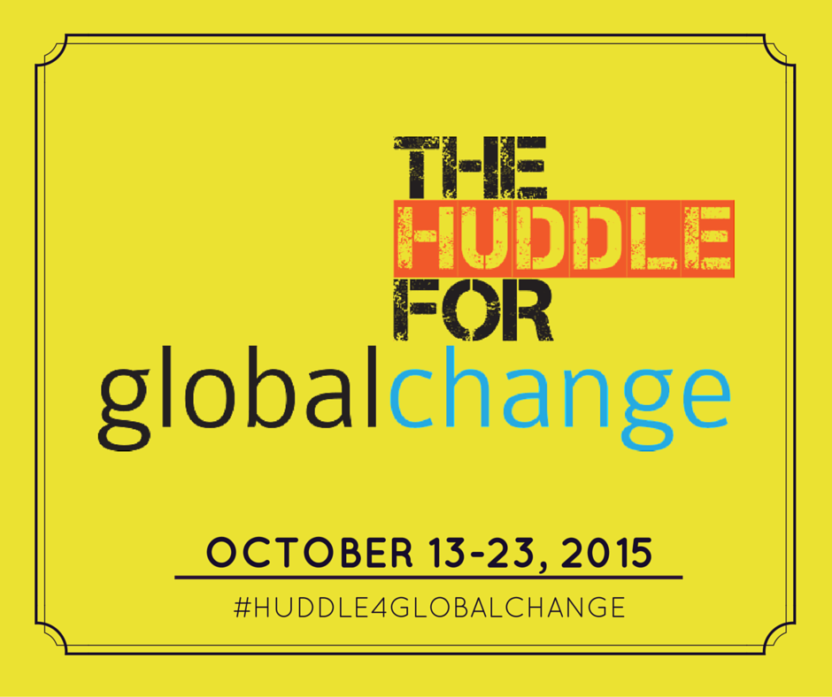 A New Partnership: Featuring the Huddle for Global Change