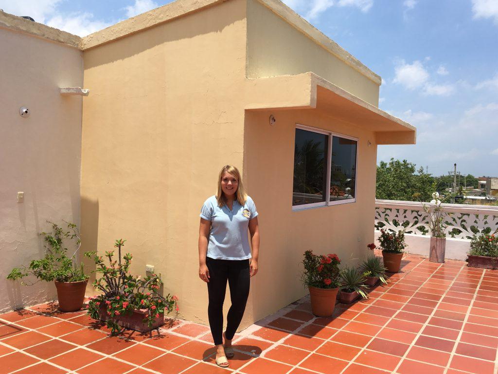 Emili at the foundation