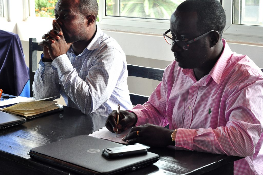 Rwandan entrepreneurs participated in a tax training offered by AEC.