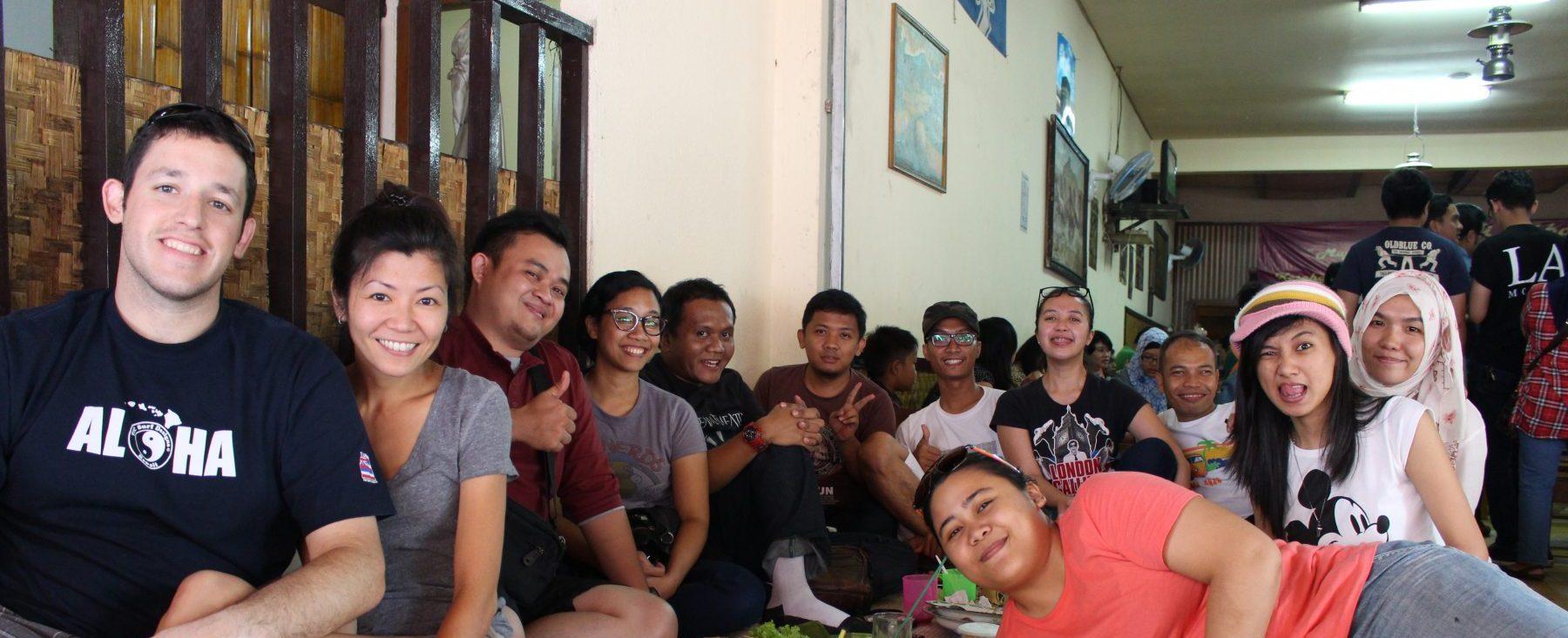Dan and Lynn Experteering in Indonesia