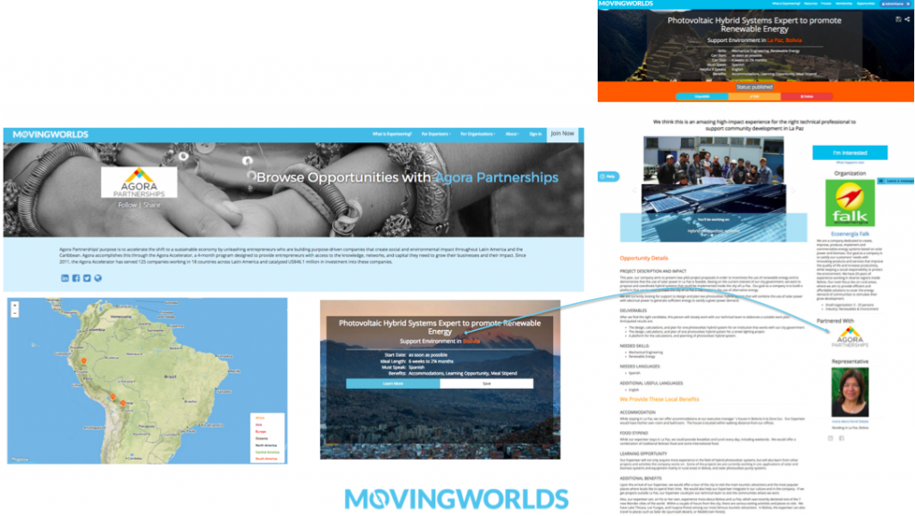 Agora Partnerships and MovingWorlds join forces to Accelerate Impact in Latin America