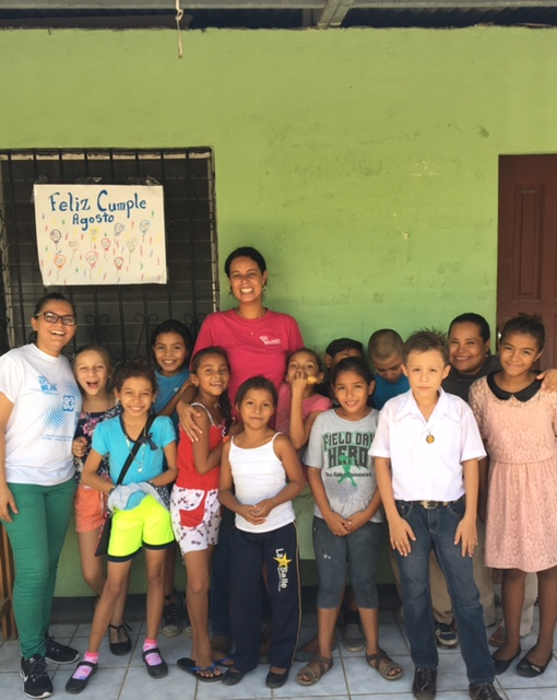"These children were Fernanda's inspiration every day. ""I feel very grateful to have the chance to share in their growth and learning."""