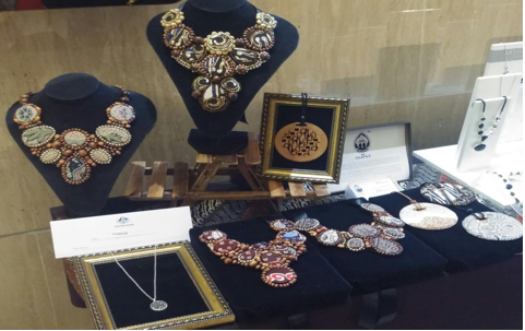 The new Marici line of jewelry that the women work to produce daily.