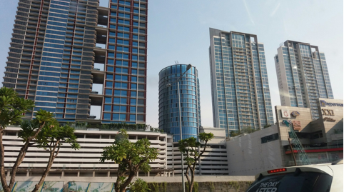 The growing skyscrapers that are taking over Surabaya.
