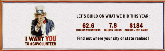 Enlist your friends to get involved in giving back.