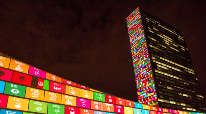 The sustainable development goals can only be achieved if we all play our part.