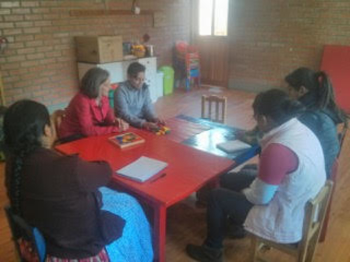 Teacher training sessions at the pre-school.