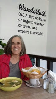 Laurie is a world traveler and her urge to travel is insatiable.