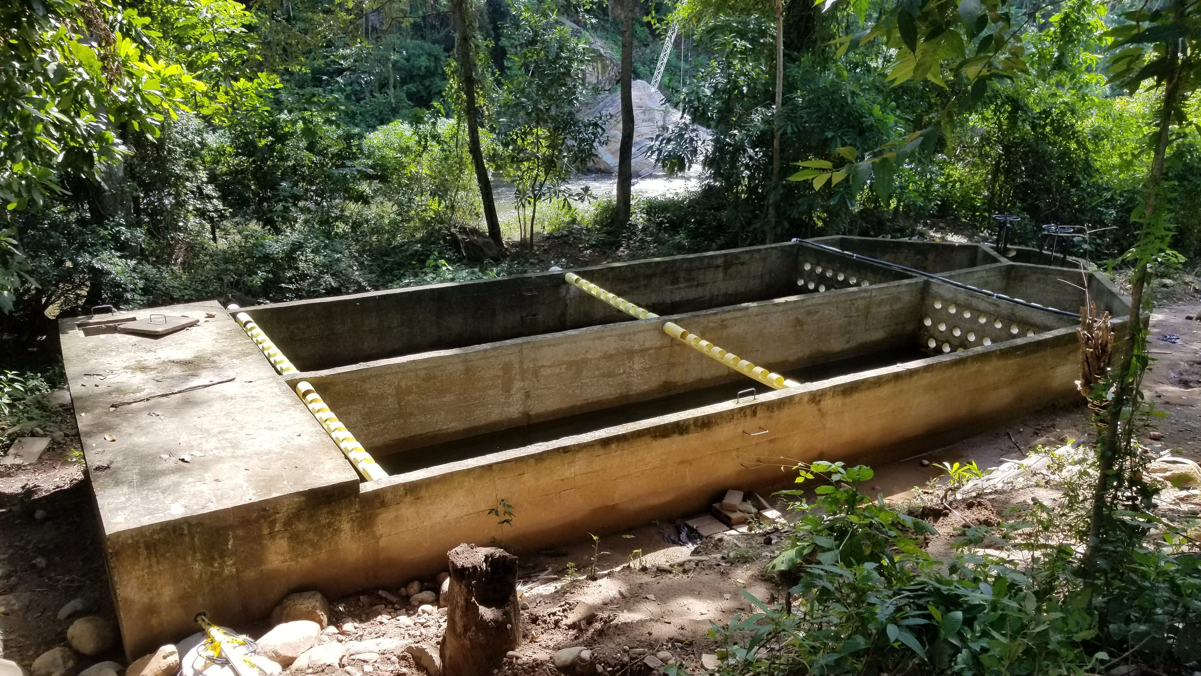 A sustainable irrigation project Smart Hydro Power has created.
