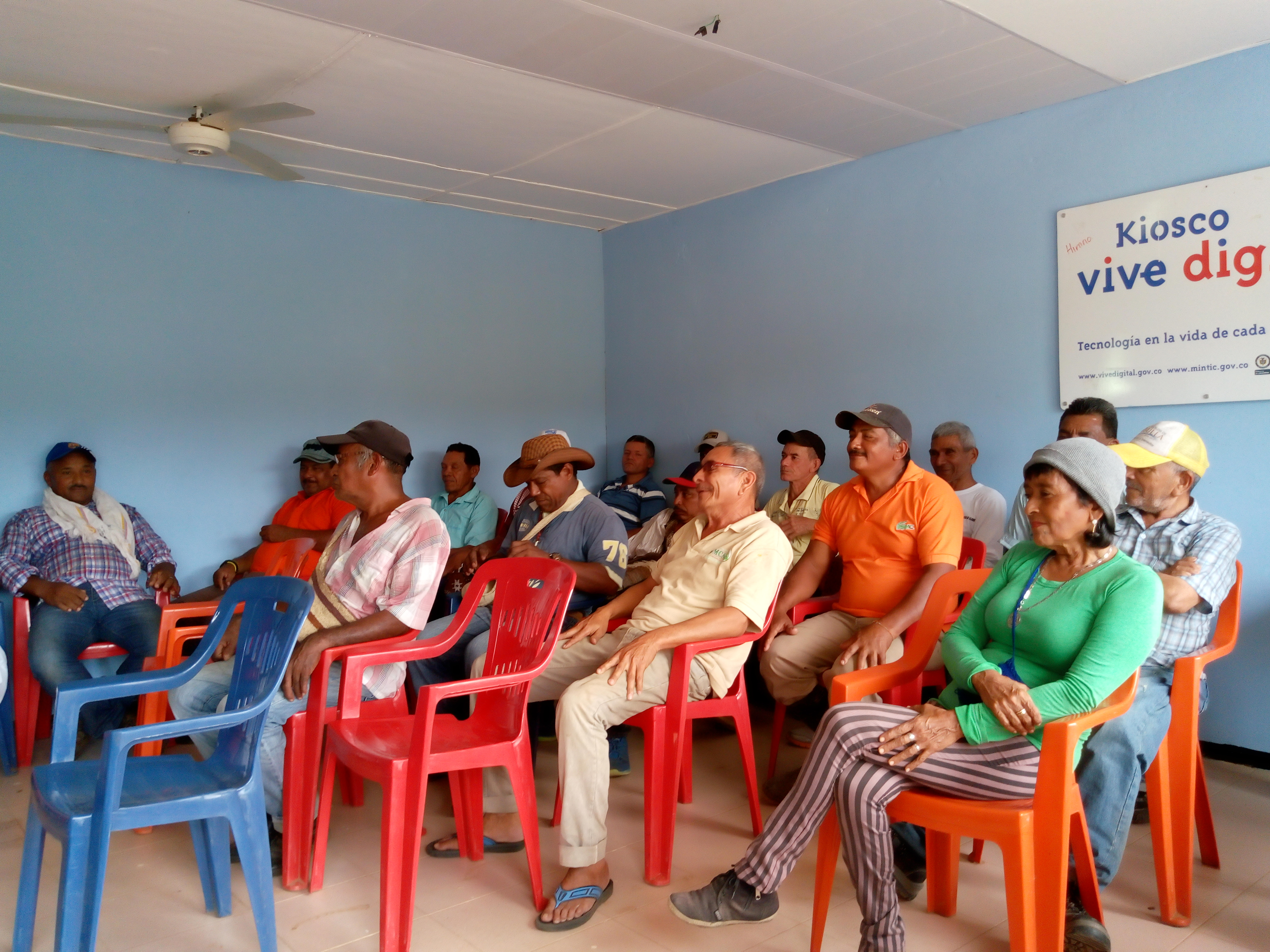 A community meeting to discuss one of Smart Hydro Power's new projects.