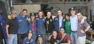 Agnes & the WindAid Team Volunteering in Peru