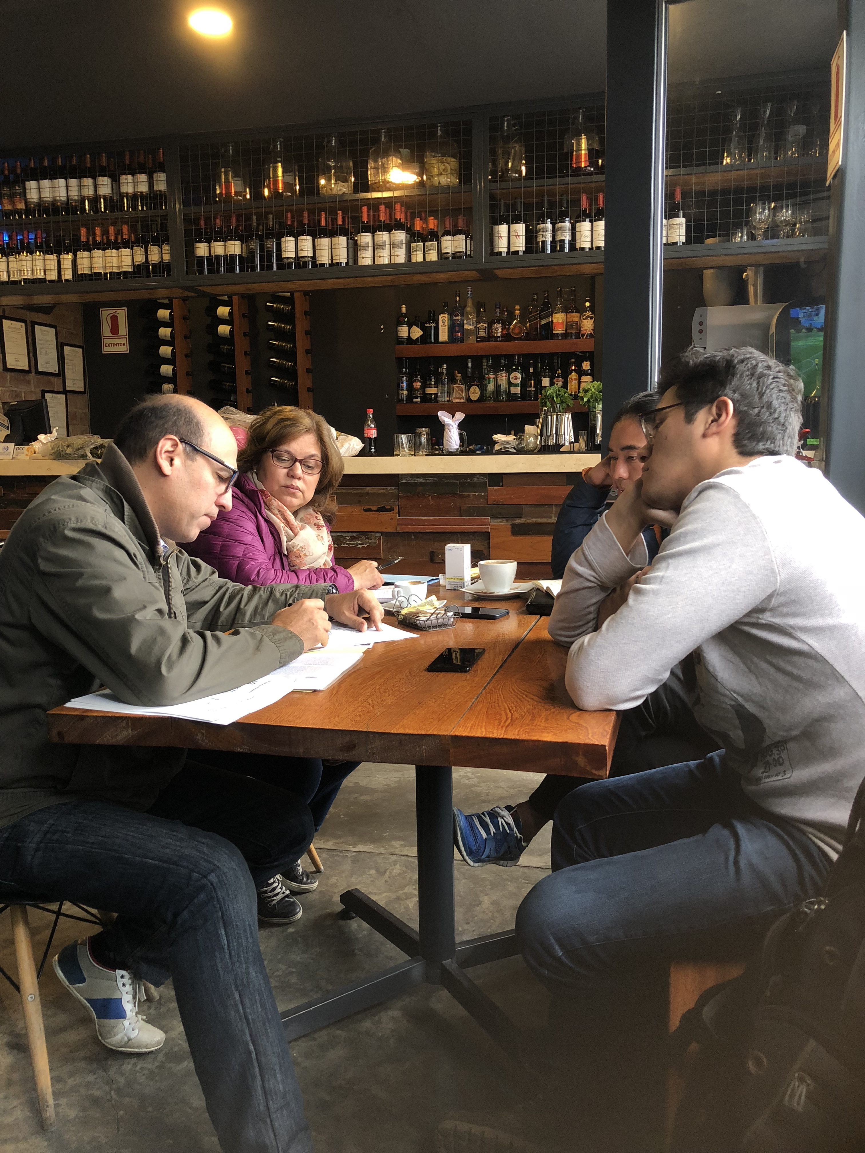 Working with Experteers at Cafe Compadre