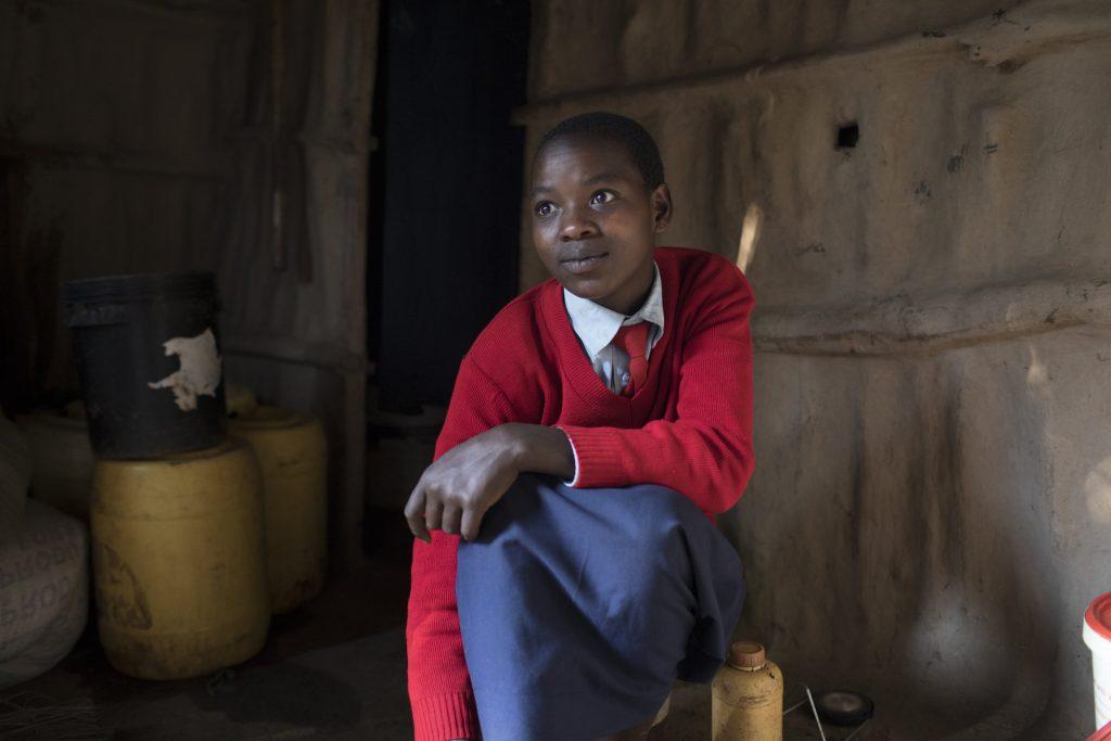 Orkeeswa Student Portrait