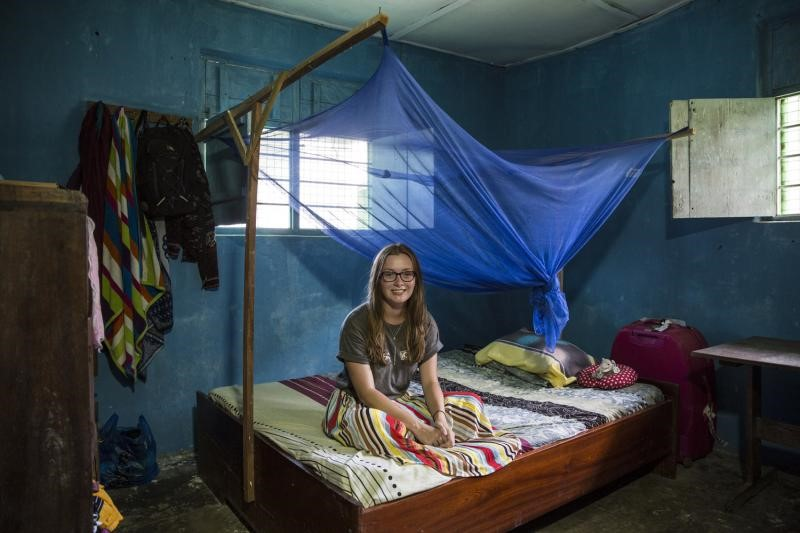 Image of what home can look like when volunteering overseas