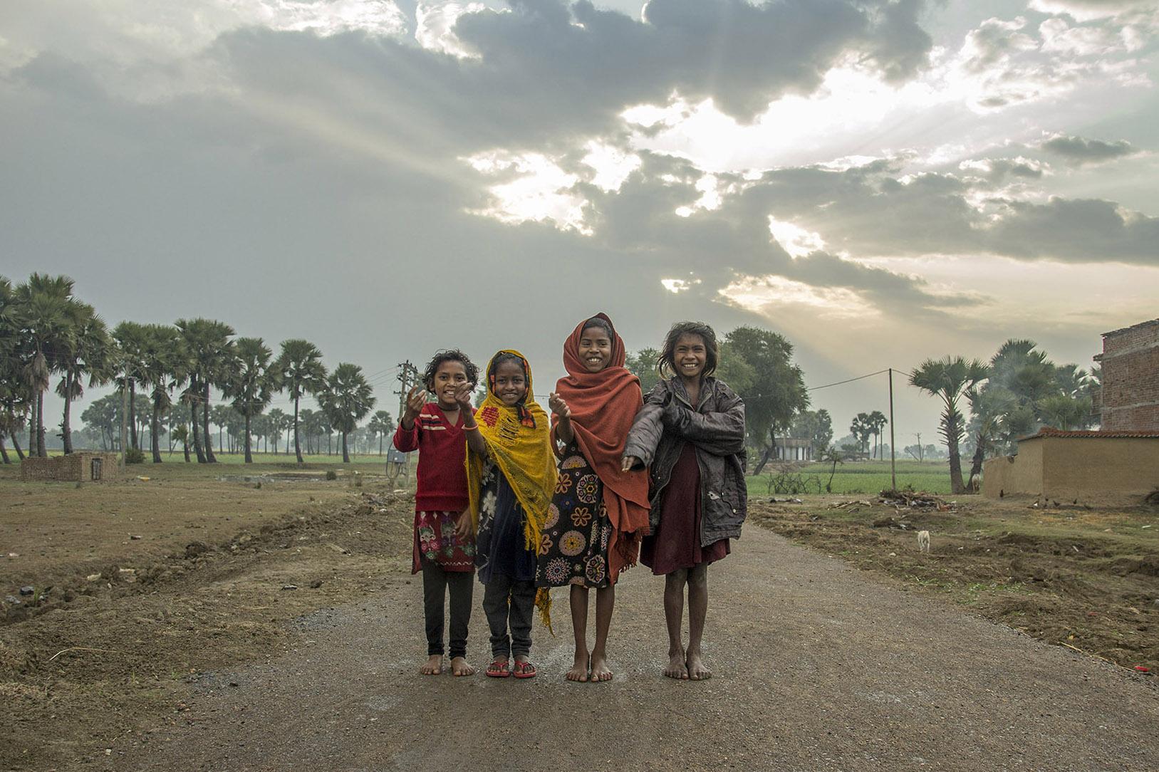 Village students of Bodhi Tree School
