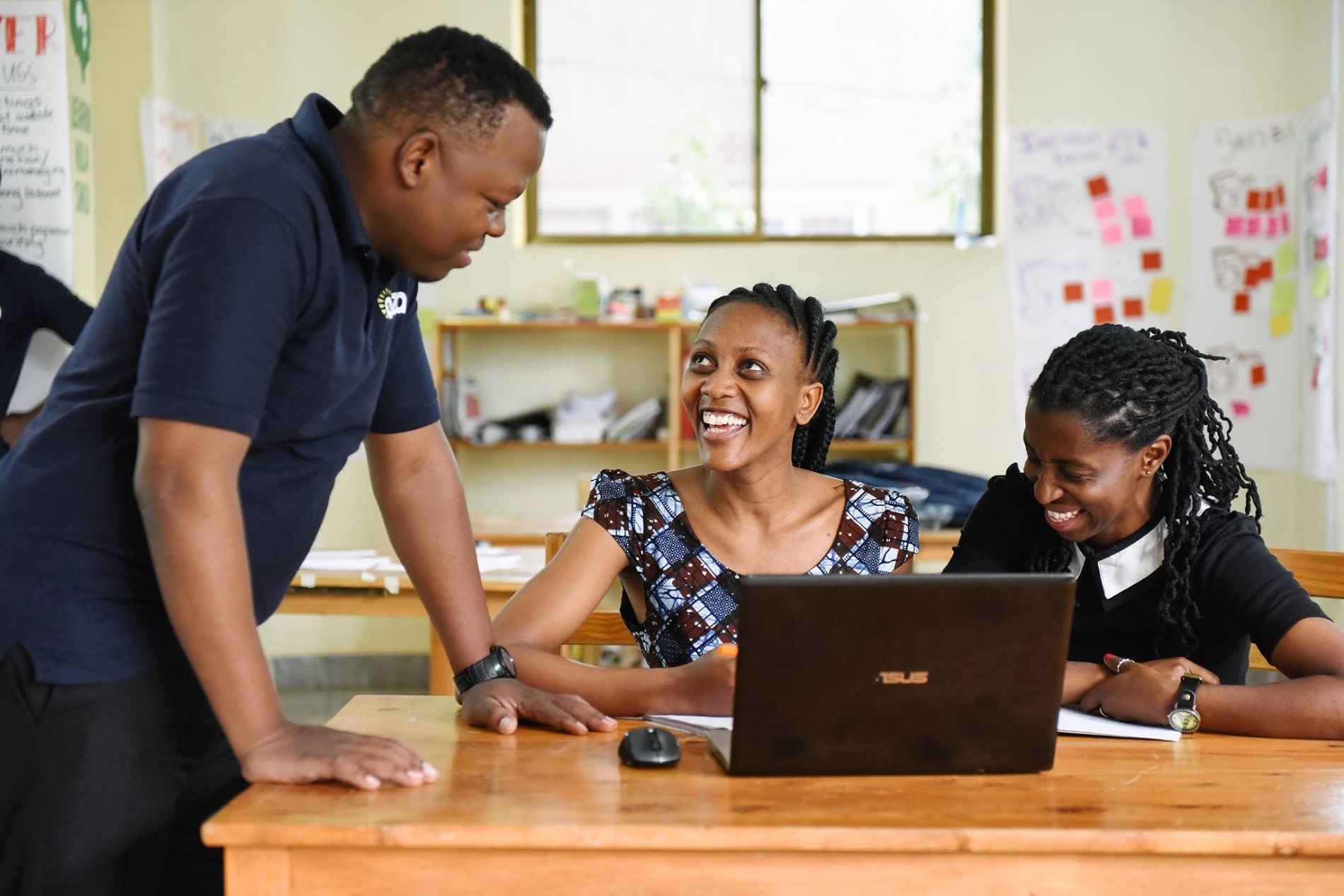 Entrepreneurs at Anza Tanzania accelerator hub