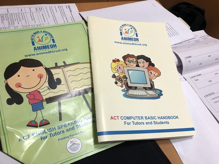 ACT handbooks used for children's education programs